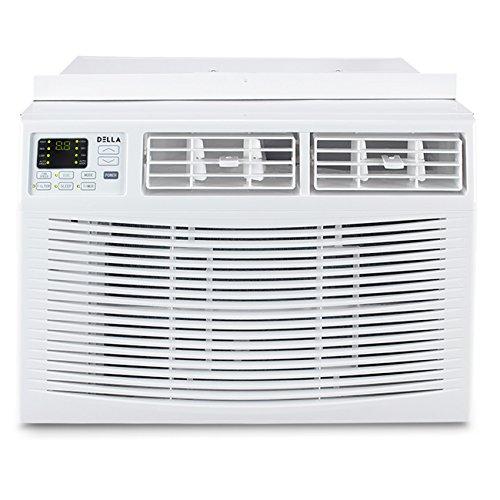 Della 12000 BTU Window Air Conditioner 1250W,...