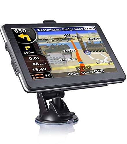 Yuyitec Car Vehicle GPS Navigation 7 inch 8GB 256MB Capacitive Touchscreen System Vehicle GPS SAT NAV North American Map Free Update Lifetime