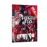 AAOO Manchester United Players Poster dekorative Malerei