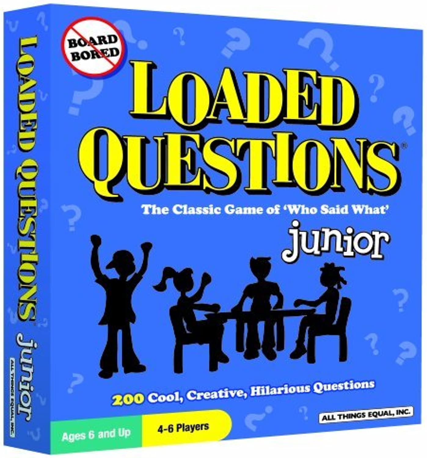 Loaded Questions  Junior by All Things Equal, Inc.