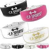 C.P. Sports Gewichthebergürtel Leder, Gewichtheben Fitnessgürtel, Trainingsgürtel für den...