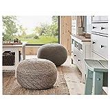 DiscountSeller Sitzsack, sandariert, 45 cm, strapazierfähig und pflegeleicht, Stoff-Fußhocker & Hocker, Fußhocker & Hocker, Sofas & Sessel, Möbel, umweltfreundlich