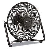 Alera FAN093 9-inch Personal Cooling Fan, 3 Speed, Black