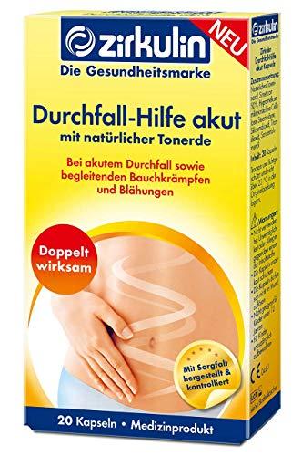 Zirkulin Durchfall - Hilfe akut | bei akutem Durchfall sowie begleitenden Bauchkrämpfen und Blähungen