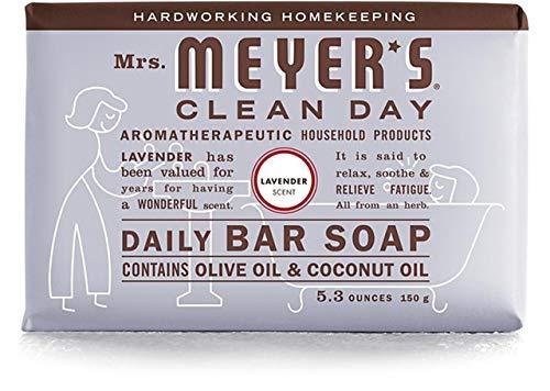 2 Packs of Mrs. Meyer's Bar Soap - Lavender - 5.3 Oz