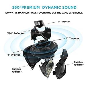 Portable WiFi + Bluetooth Wireless Speaker