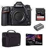 Nikon D780 FX-Format DSLR Camera Body -Bundle with Camera Case, 64GB SDXC Memory Card, EN-EL15B Battery, Pro Software Package