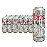 COORS LIGHT Lager Norteamericana. Alc. 4% Vol. Bandeja con 24 latas de 500 ml