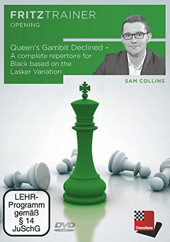 Fritztrainer - Queen\'s Gambit Declined - A repertoire for Black based on the Lasker Variation (Sam Collins)