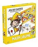 France Cartes- Coffret Nain Jaune en Bois SMIR-Grand Classique Famille, Enfants Cartes, Plateau de Jeu et jetons, 527610