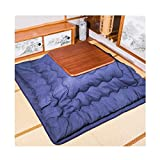 Style wei Mesa de Estufa Japonesa kotatsu cálido Conjunto de Mesa bajo Estufa Mesa kotatsu Mesa japonés Mesa Estufa de Mesa calefacción Mesa