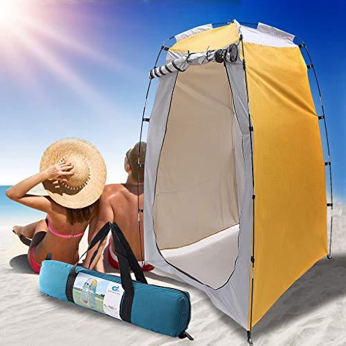 Elikliv tienda de campaña al aire libre, 2020 impermeable para el inodoro, ducha al aire libre, cambiador de baño, refugio ligero para la playa al aire libre, viaje