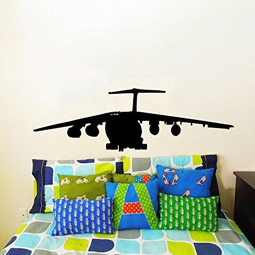 Sticker Mural Autocollant De Vinyle Stickers Art Intérieure Décor Militaires Aéronefs Plan L'air Avion Combattant Avion Copter Hélicoptère Aviation An264