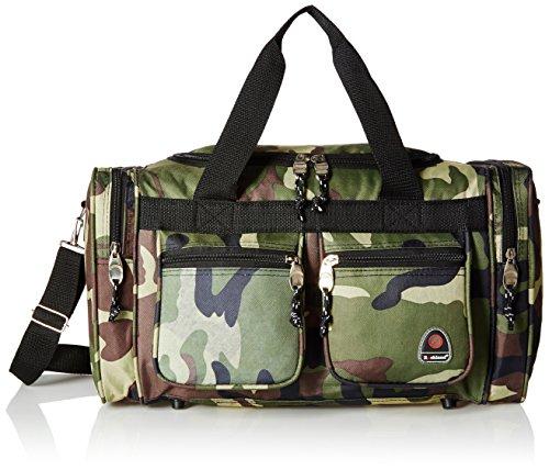 Rockland Duffel Bag, Camouflage, 19-Inch