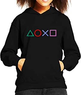 Cloud City 7 Playstation Shapes Kid's Hooded Sweatshirt