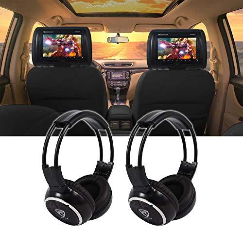 black dvd headrest for car - 5