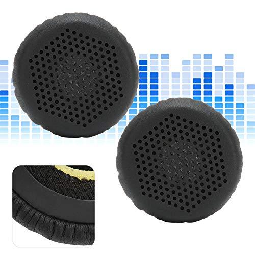 Yeelur Funda para Auriculares, cojín para Auriculares Maravilloso Ideal Cómodo para Que la Familia Disfrute de la música(Black)