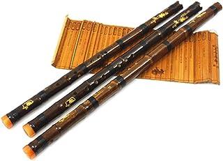 Flauta De Bambú Púrpura Profesional Xiao Chino Piccolo Vertical Shakuhachi China Clásico Instrumento De Música Tradicional Dizi Xiao (Color : 8 Holes Key of G)
