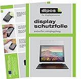 dipos I 2X Schutzfolie matt kompatibel mit Lenovo Miix 720 Folie Bildschirmschutzfolie