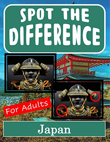 Spot the Difference Book for Adults - Japan: Hidden Picture Puzzles for Adults with Japan Pictures (English Edition)