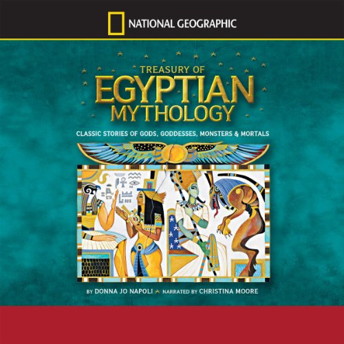 Treasury of Egyptian Mythology audiobook cover art