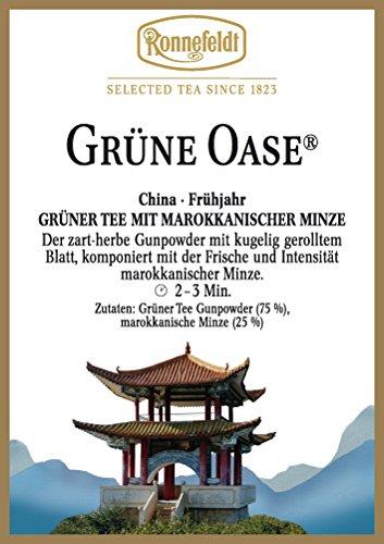 Ronnefeldt - Grüne Oase® - Grüner Tee, Herstellung Formosa-Art - 100g