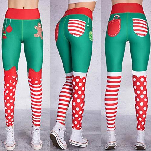 RRUI Vrouwen Sport Panty & Leggings sport panty Kerst vrouwen verschillende stiksels lycra broek fitness sportbroek vrouwen