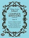 Mozart: Complete Serenades in Full Score, Series II