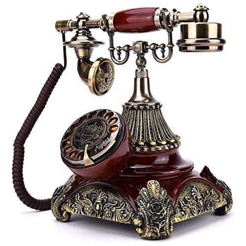 NL Teléfono Vintage Teléfono de la Manera Europea Fija Placa giratoria la Rueda giratoria de...