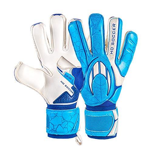 HO Soccer One Negative Blue Ocean Guantes de Portero, Unisex Adulto, Azul/Blanco, 11