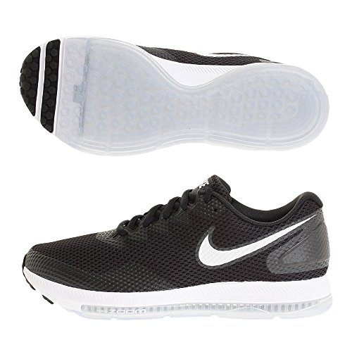 Nike Zoom all out Low 2, Scarpe da Trail Running Uomo, Nero (Black/White/Anthracite 003), 42.5 EU