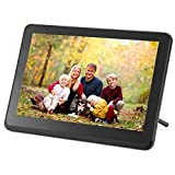 KOT 10inch Wi-Fi Digital Picture Frame 1920x1080 IPS Touch Screen, Built in 16GB Memory, Share Photo and Video via OURPHOTO APP, Cloud, Email, Support Thumb USB Drive and SD Slot, Music Player (Black)