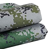 Lona Impermeable/Toldo Lona Impermeable Resistente - Lona de Lona Verde - Cubierta Cubierta para Tienda de campaña, Hamaca, Piscina, jardín, automóvil, Motocicleta, Barco ZHANGQI