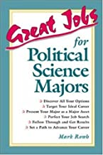 Best great jobs for political science majors Reviews
