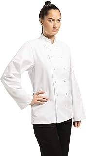 Whites Chefs Apparel A134-M Vegas Chefs Jacket, Size Medium, White