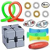 Oliva Branch Sensory Fidget Toys, Fidget Cube, Sensory Toys, Stress Relieving and Focus