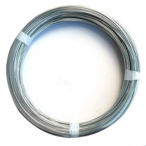 ダイドーハント (DAIDOHANT) ( 軟質 ) メッキ針金 [ 鉄 ・ 亜鉛メッキ ] [太さ] #16 1.6 mm x [長さ] 300m 10155462