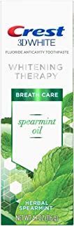 Crest 3D Spearmint Oil Whitening Therapy Toothpaste
