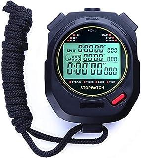 JINHAN ساعة توقيت ساعة رياضية ماء 200 جولة التخزين الموقت للتدريب السباحة الركض كرة السلة الرياضة في الهواء الطلق Stopwatches