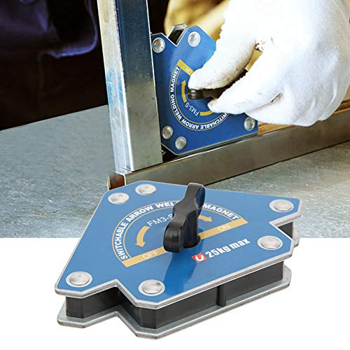 Naroote 【𝐖𝐞𝐢𝐡𝐧𝐚𝐜𝐡𝐭𝐞𝐧 𝐍𝐢𝐞𝐝𝐫𝐢𝐠𝐬𝐭𝐞𝐫 𝐏𝐫𝐞𝐢𝐬】 Magnetschweißlokalisator, Magnetschweißlokalisator Schaltbarer Pfeil Zusatzschweißvorrichtung Absaugung 15-20 kg FM3-S