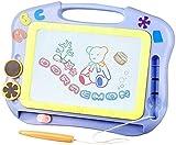 Pizarras de Dibujo Magnética para Infantil, Portátil Magnético Pintura de la Escritura Doodle Sketch Pad Creatividad Educativos Juguetes Cumpleaños para Niños