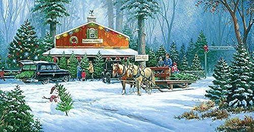 el precio más bajo Holiday Tradition a 500-Piece Jigsaw Puzzle Puzzle Puzzle by Sunsout Inc. by SunsOut  te hará satisfecho