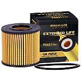 Premium Guard Oil Filter, Extended Life Premium Guard6311EX| Fits 2009-18 Toyota Corolla, 2010-18 Prius, 2011-17 Lexus CT200h, 2009-10 Pontiac Vibe, 2016 Scion iM