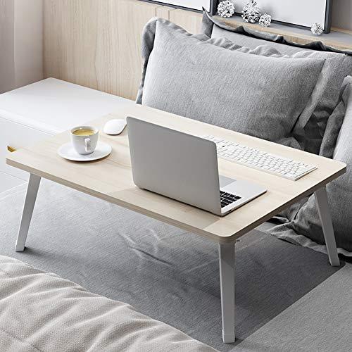 TY-ZWJ Klappbarer Laptop-Tisch, tragbarer Stehtisch, Frühstückstablett, Laptopständer, Bücherregal, Boden, Leseständer, Knie, Schreibtisch, Ahorn, Kirsche