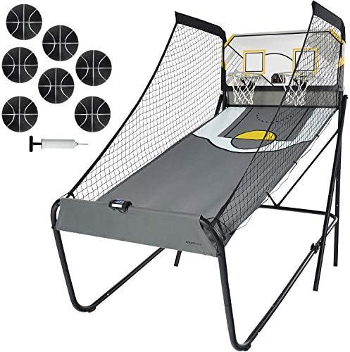 Amazon Basics Dual Shot Classic Shootout Basketball Arcade Game with LED Scorer 1 5 Frame product image