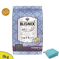 ブリスミックス(BLISMIX) (ドッグ) pH コントロール・グレインフリーチキン 6kg(小粒) (成犬・シニア犬用) 「プレゼント付=マイクロファイバータオル ブルー」
