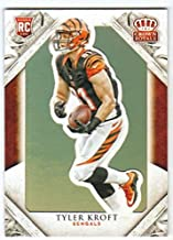 2015 Panini Crown Royale Football Rookies RC #101 Tyler Kroft Bengals