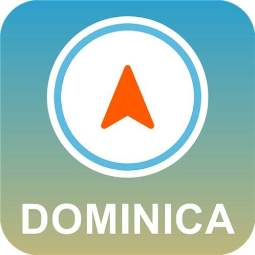 ドミニカ オフラインGPS