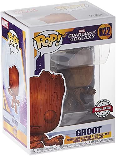 POP Funko Guardians of The Galaxy Vol. 2 -622 Baby Groot Wood Deco