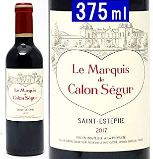 2017 ル マルキ ド カロン セギュール ハーフ 375ml サンテステフ ボルドー フランス 赤ワイン コク辛口 ((AACS21G7))